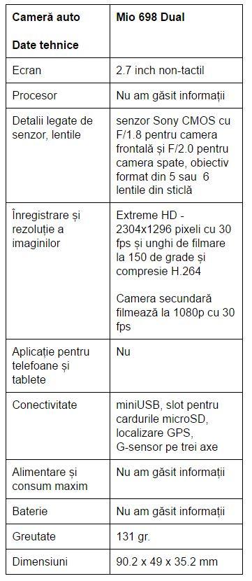 specificatii-Mio-MiVue-698-Dual