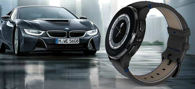 BMW i si Vector Watch