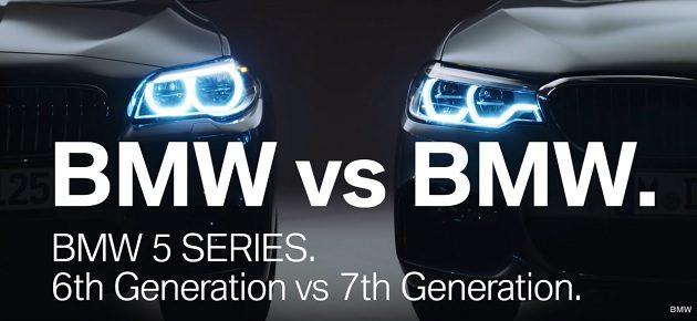 BMW Seria 5 F10 vs BMW Seria 5 G30