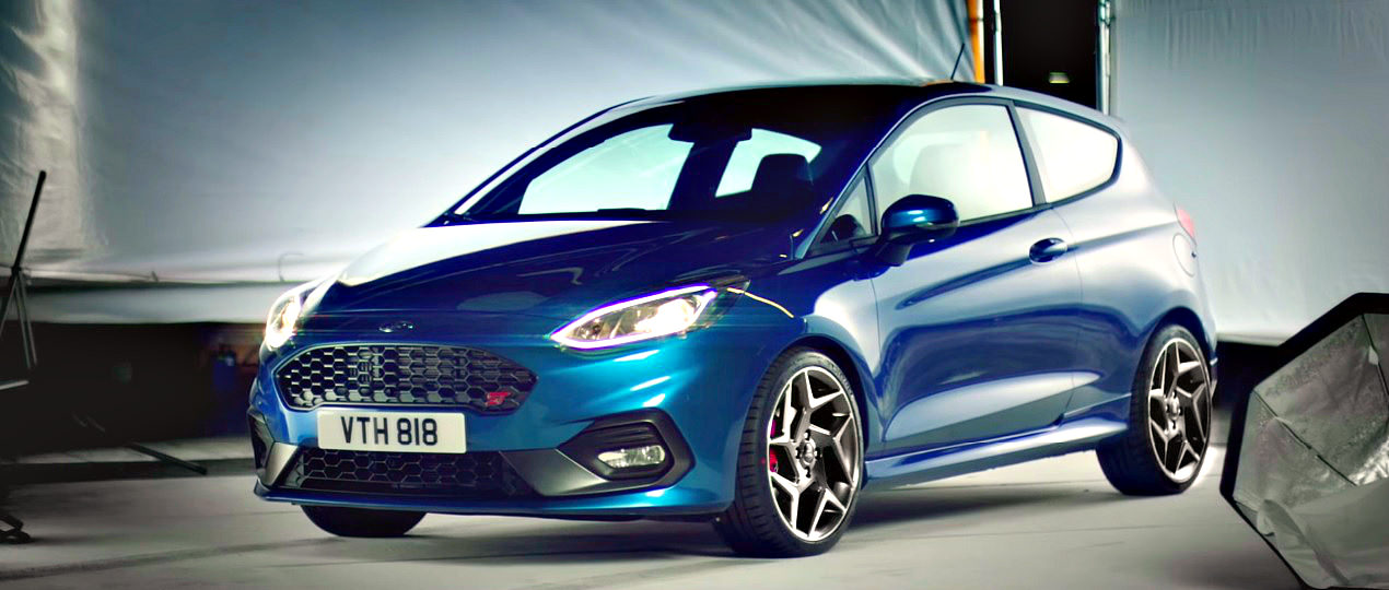 Noul Ford Fiesta ST