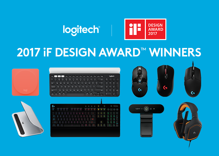Logitech iF Design Award 2017 winners