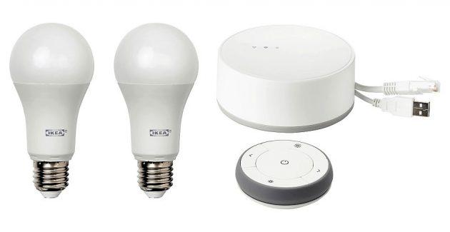Kit iluminat inteligent IKEA TRADFRI