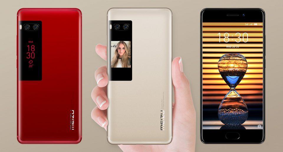Ciudățenia zilei: Meizu PRO 7, smartphone cu 2 ecrane la 669 lei prin PC Garage