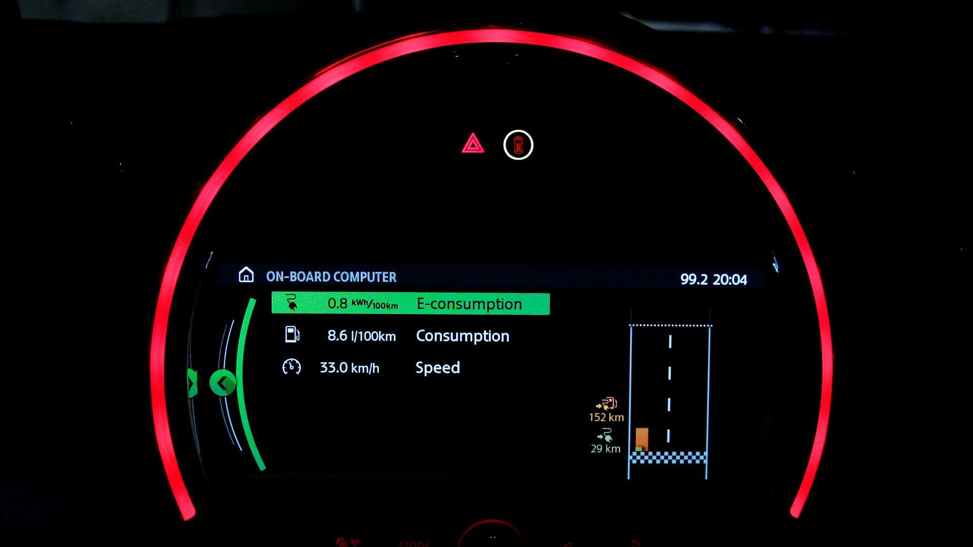 Consum MINI Cooper S E All4 Countryman