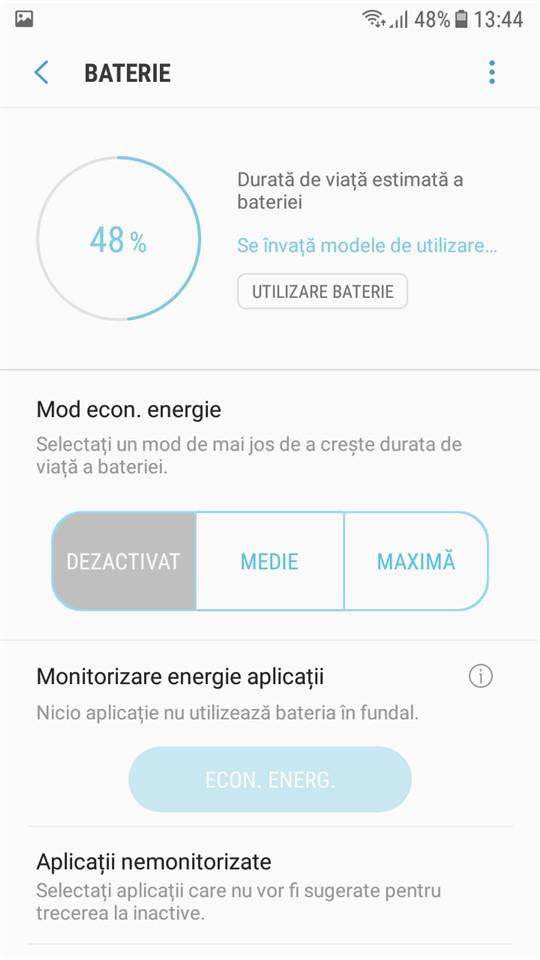 Baterie autonomie Samsung Galaxy J5 2017