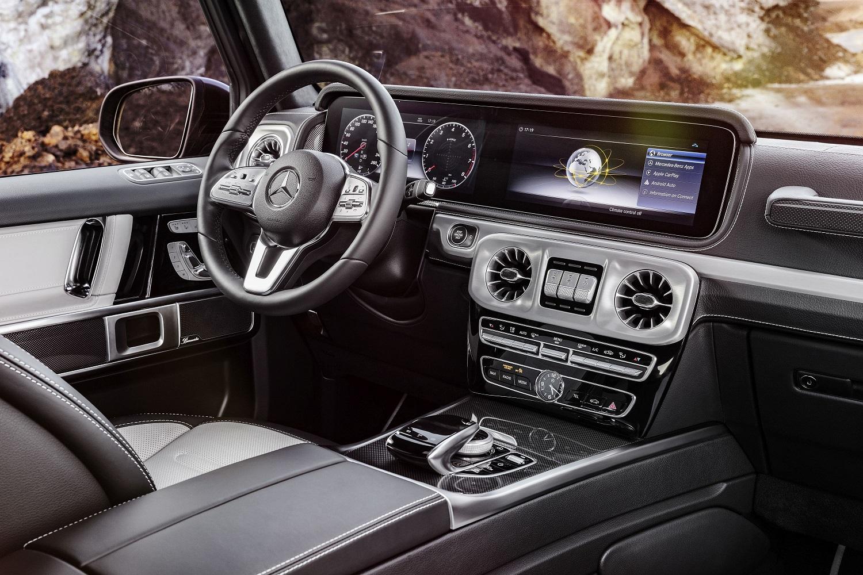 Interior Noul Mercedes-Benz Clasa G
