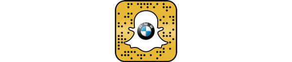 Snapcode BMW X2 Augmented Trial Lens