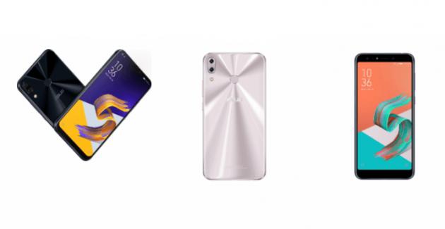 ASUS ZenFone 5Z ZenFone 5 si ZenFone 5 Lite