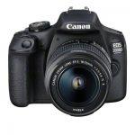 Canon EOS 2000D cu obiectiv EF-S18-55mm
