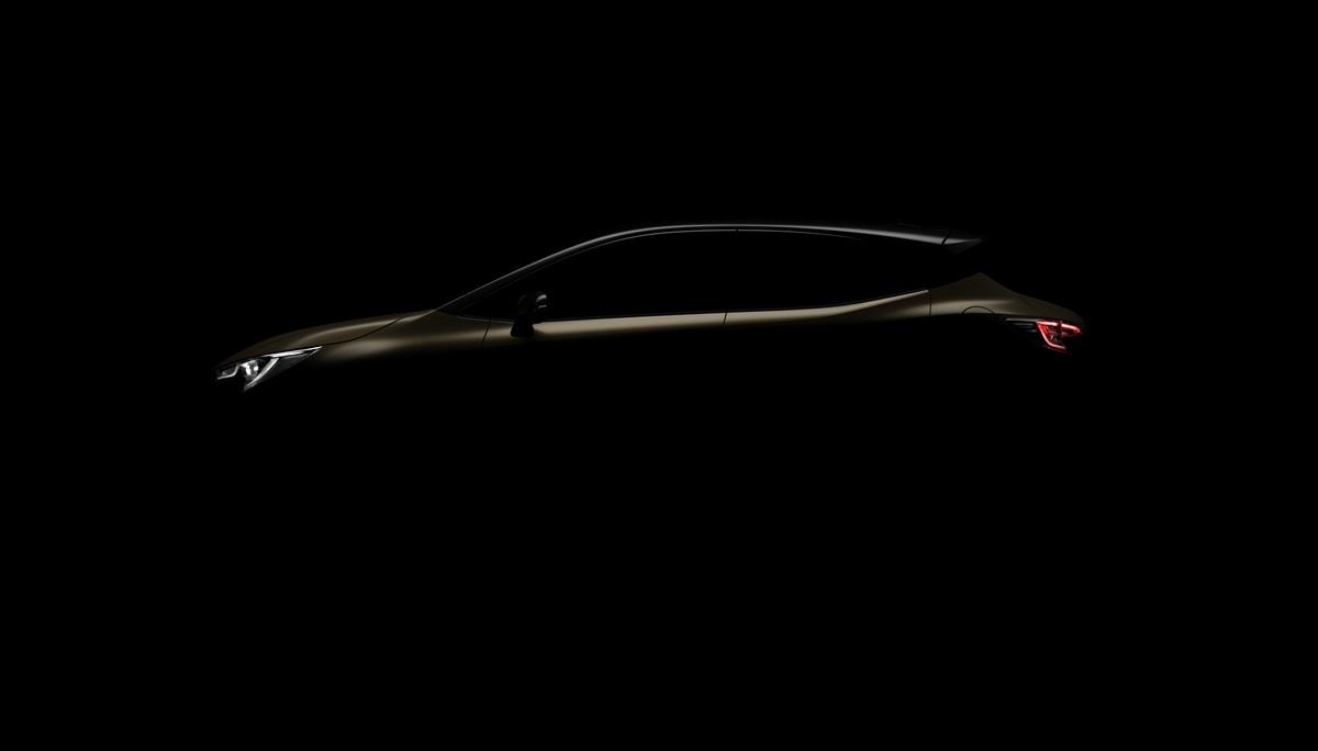 Toyota Auris teaser