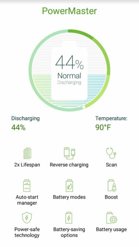 Autonomie ASUS Zenfone 4 Max