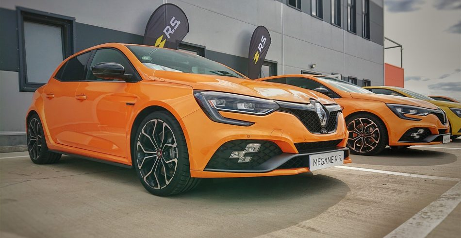Eveniment lansare Renault Megane RS 2018