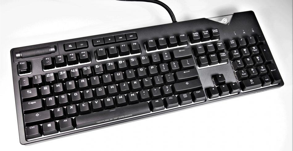 Tastatura mecanica gaming ASUS ROG Strix Flare