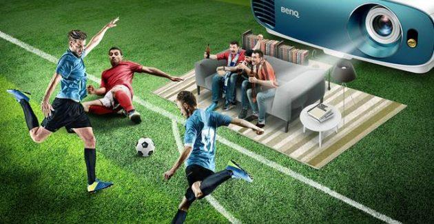 Videoproiectoare BenQ pentru fotbal