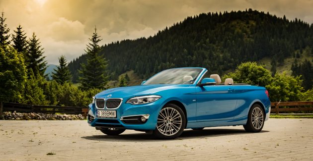 BMW 220i Cabrio Steptronic