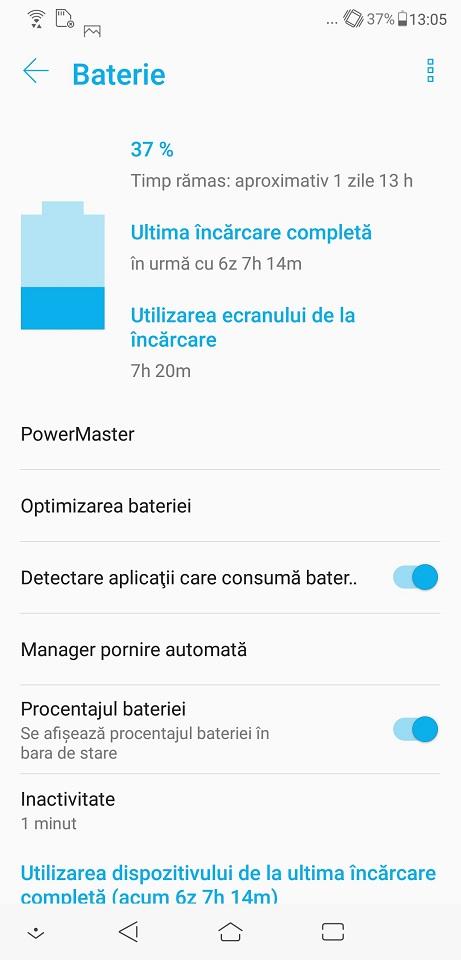 Autonomie ASUS Zenfone 5