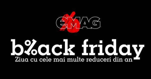 eMAG a anunţat când va organiza Black Friday 2018