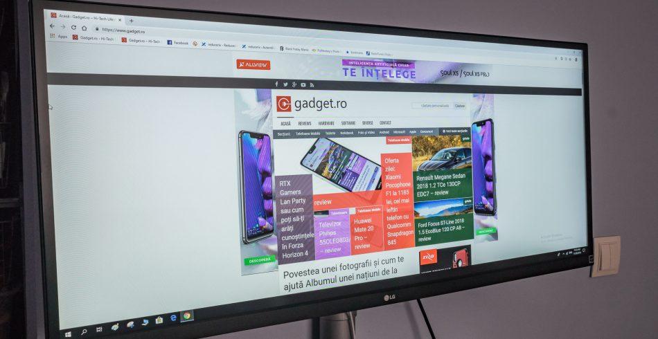 Monitor UltraWide LG 34WK650-W