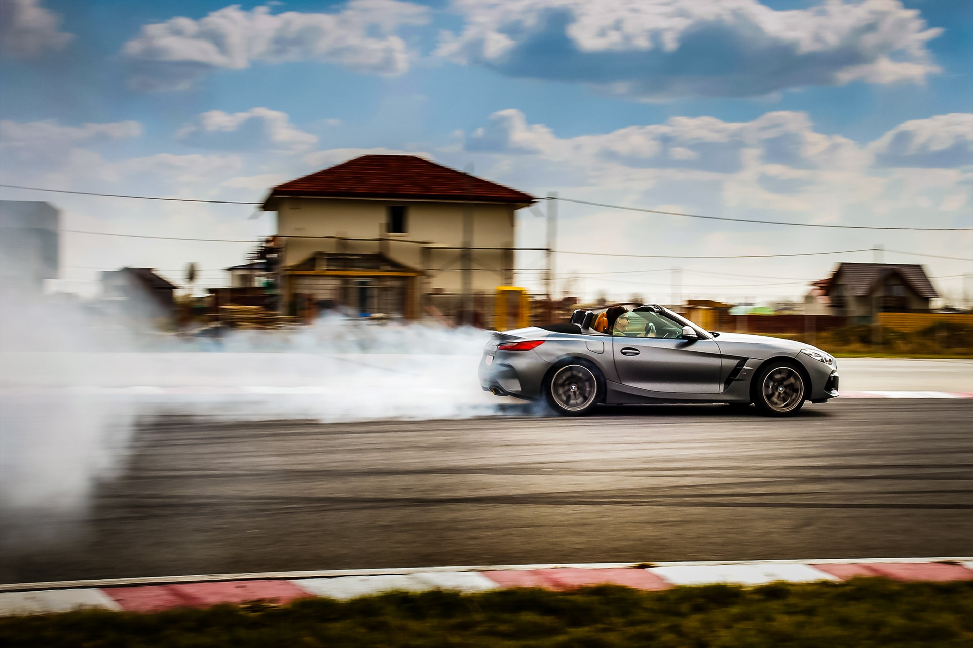 Burning rubber in BMW Z4 M40i