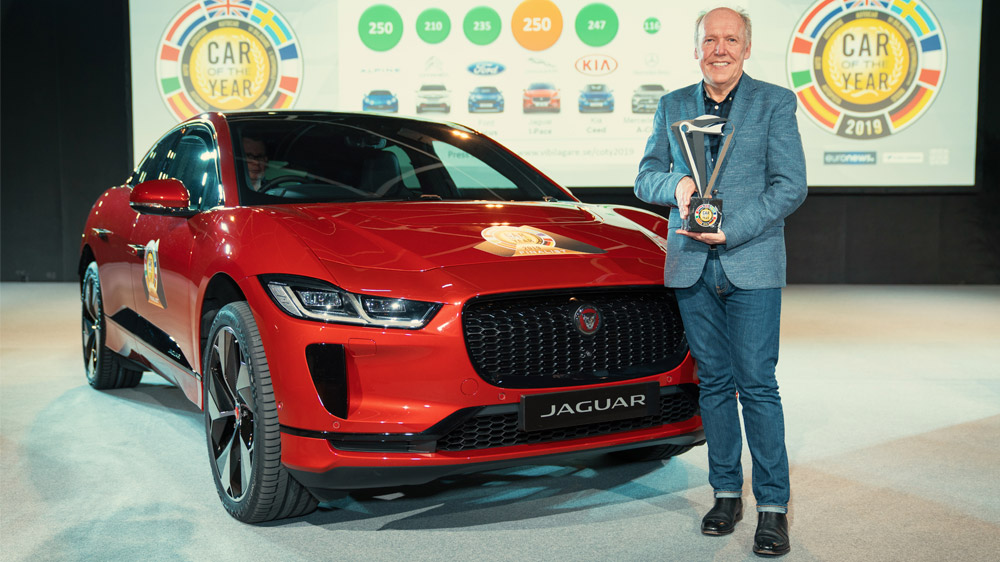 Jaguar I-Pace Car of The Year 2019