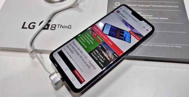 LG G8 ThinQ la MWC 2019