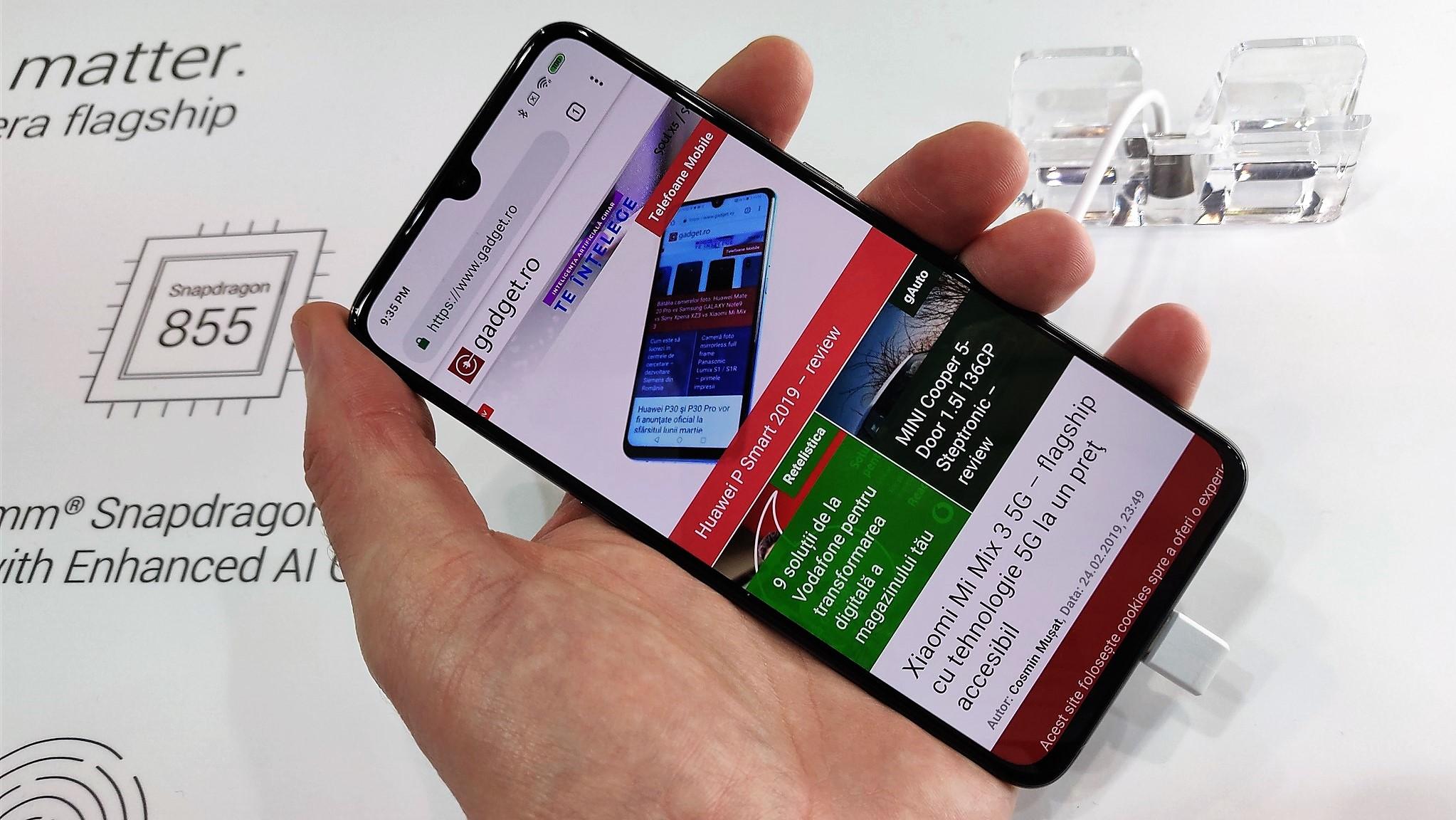 Xiaomi Mi 9 la MWC 2019