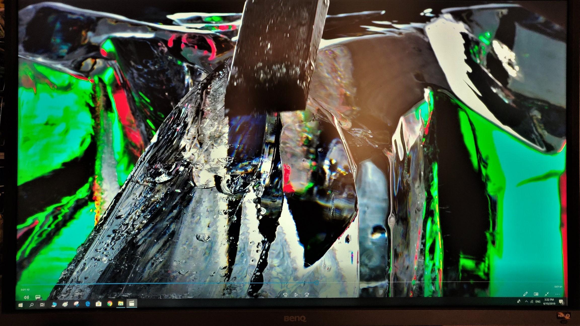 Calitatea imaginii monitor BenQ EW3270U