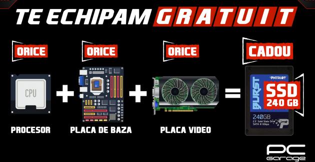 Campanie PCGarage cu SSD cadou