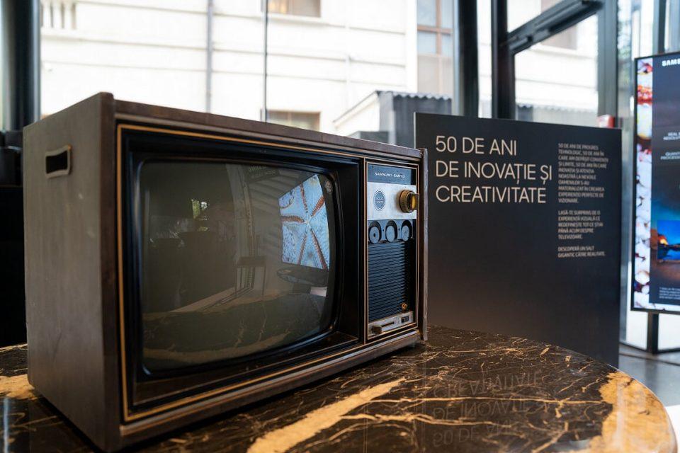 50 de ani de la primul televizor Samsung și detalii legate de gama