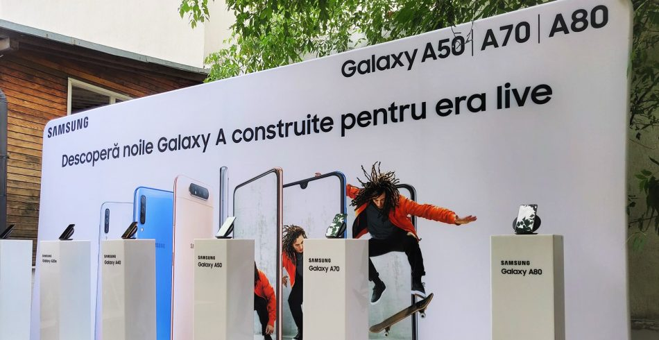 Eveniment Samsung Galaxy A 2019