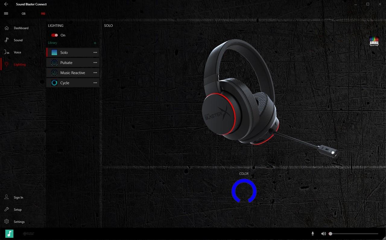 Căști de gaming Creative Sound BlasterX H6 - review : Gadget