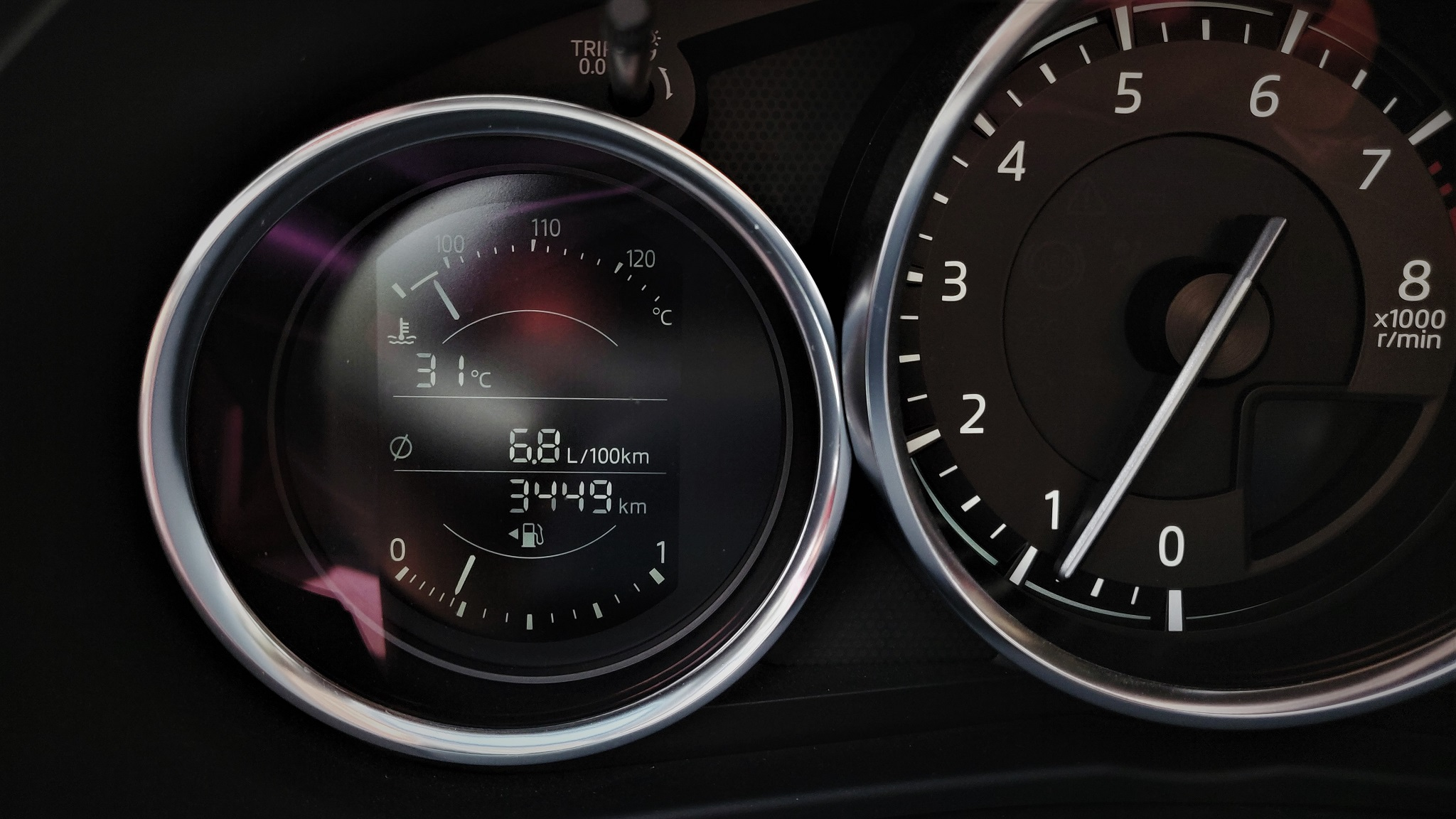 Consum mediu Mazda MX-5 2019 Skyactiv G184 M6