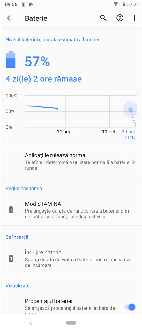 Autonomie Sony Xperia 5