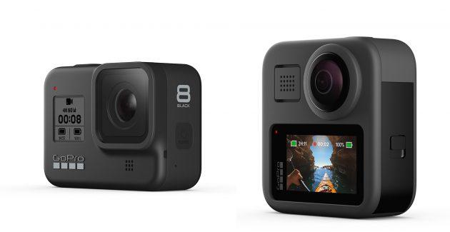 GoPro HERO8 Black si GoPro Max