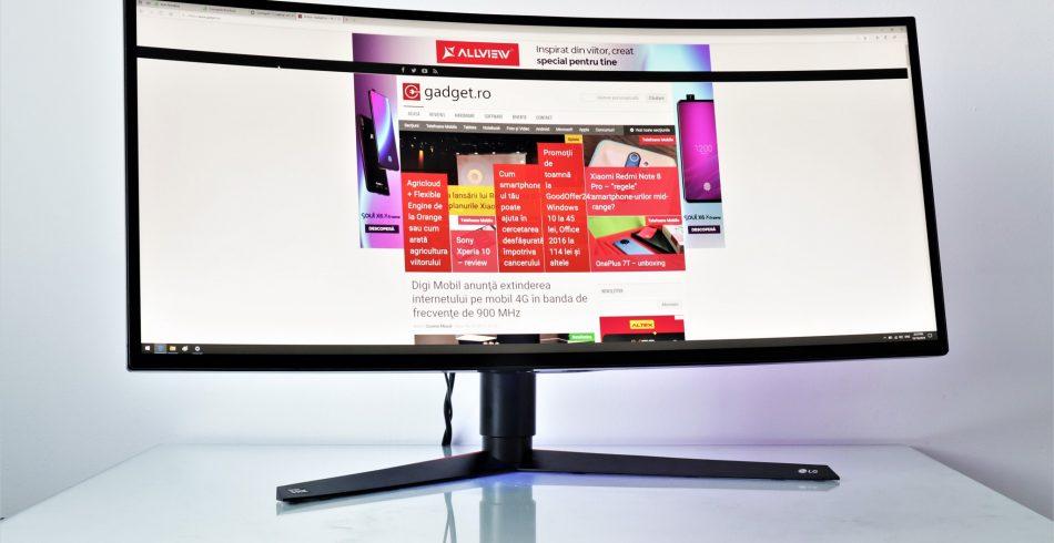 Monitor curbat de gaming LG 34GK950G