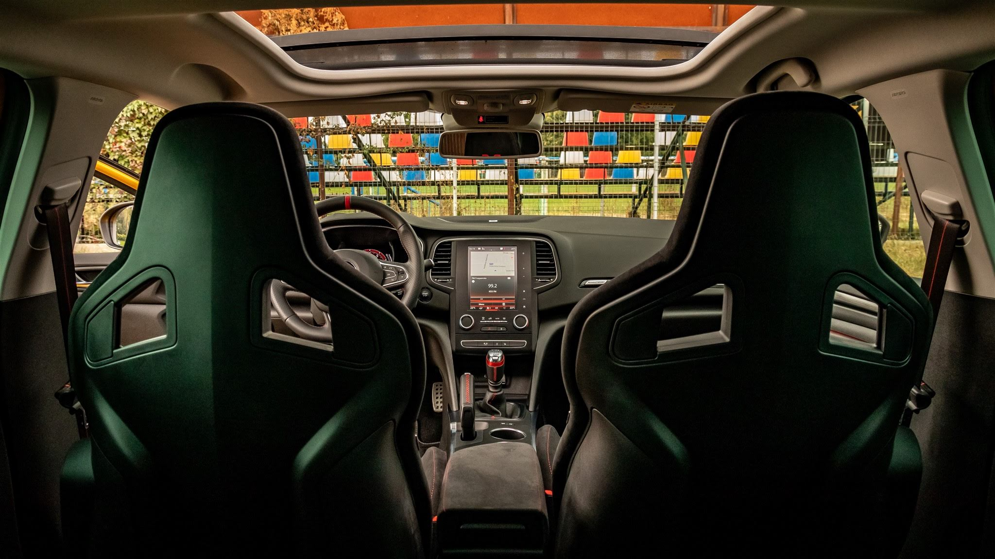 Interior Renault Megane RS300 Trophy 2019