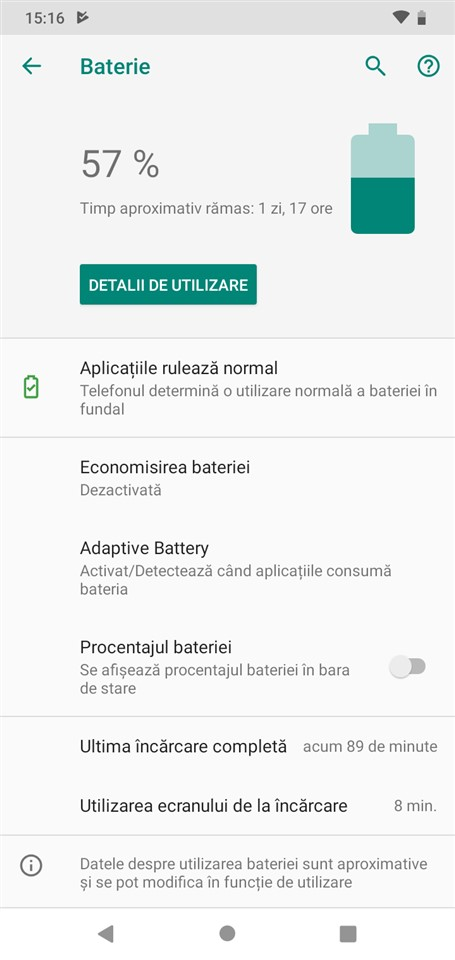 Autonomie Motorola One Macro
