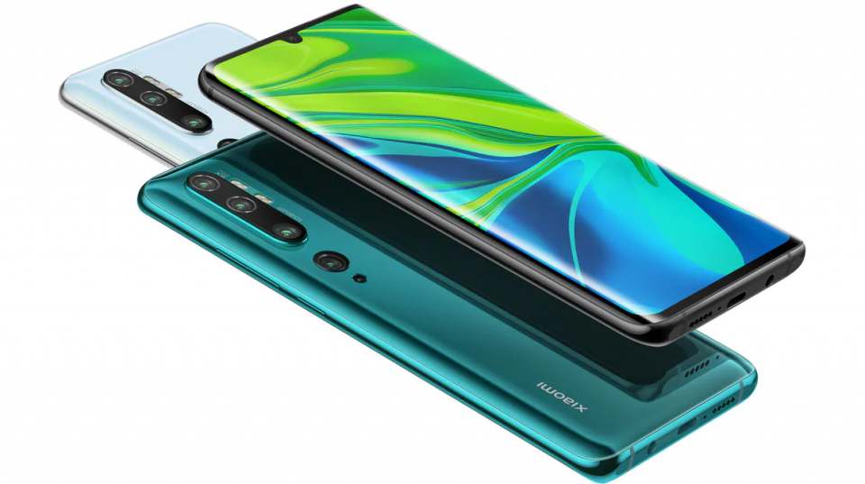 Xiaomi Mi Note 10 cu cameră de 108 Megapixeli a ajuns în oferta Orange