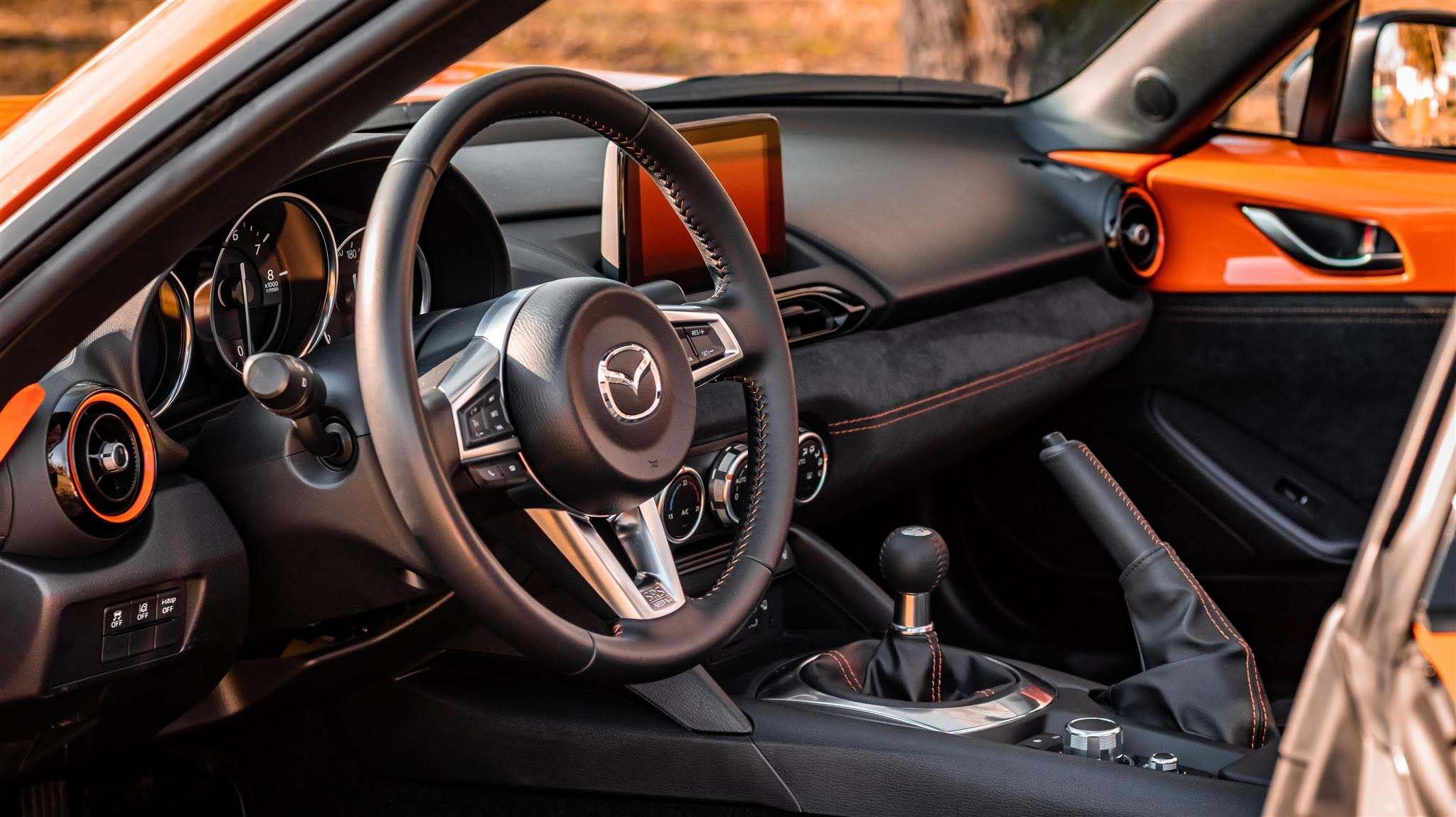 Interior Mazda MX-5 RF 30th Anniversary