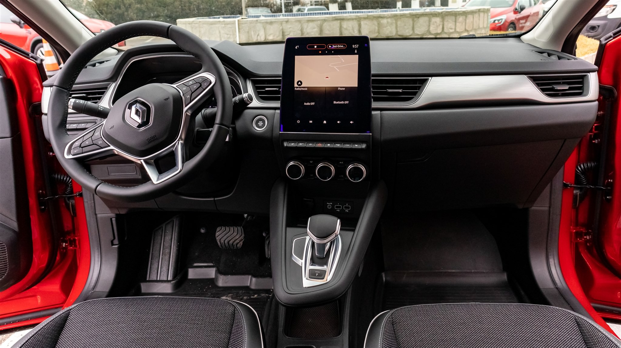 Interior noul Renault Captur 2020