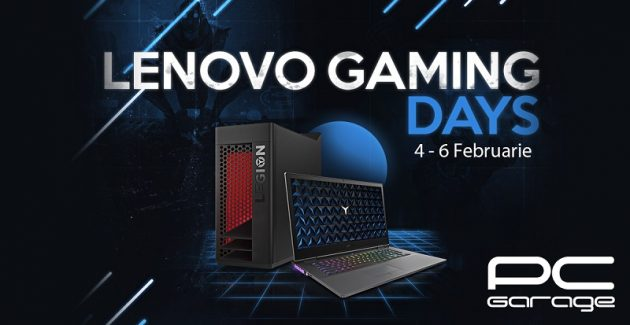 Lenovo Gaming Days la PC Garage