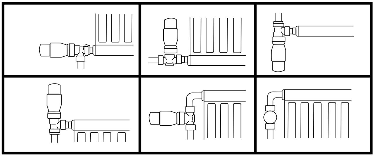 Moduri montaj termostate kit NEX Home