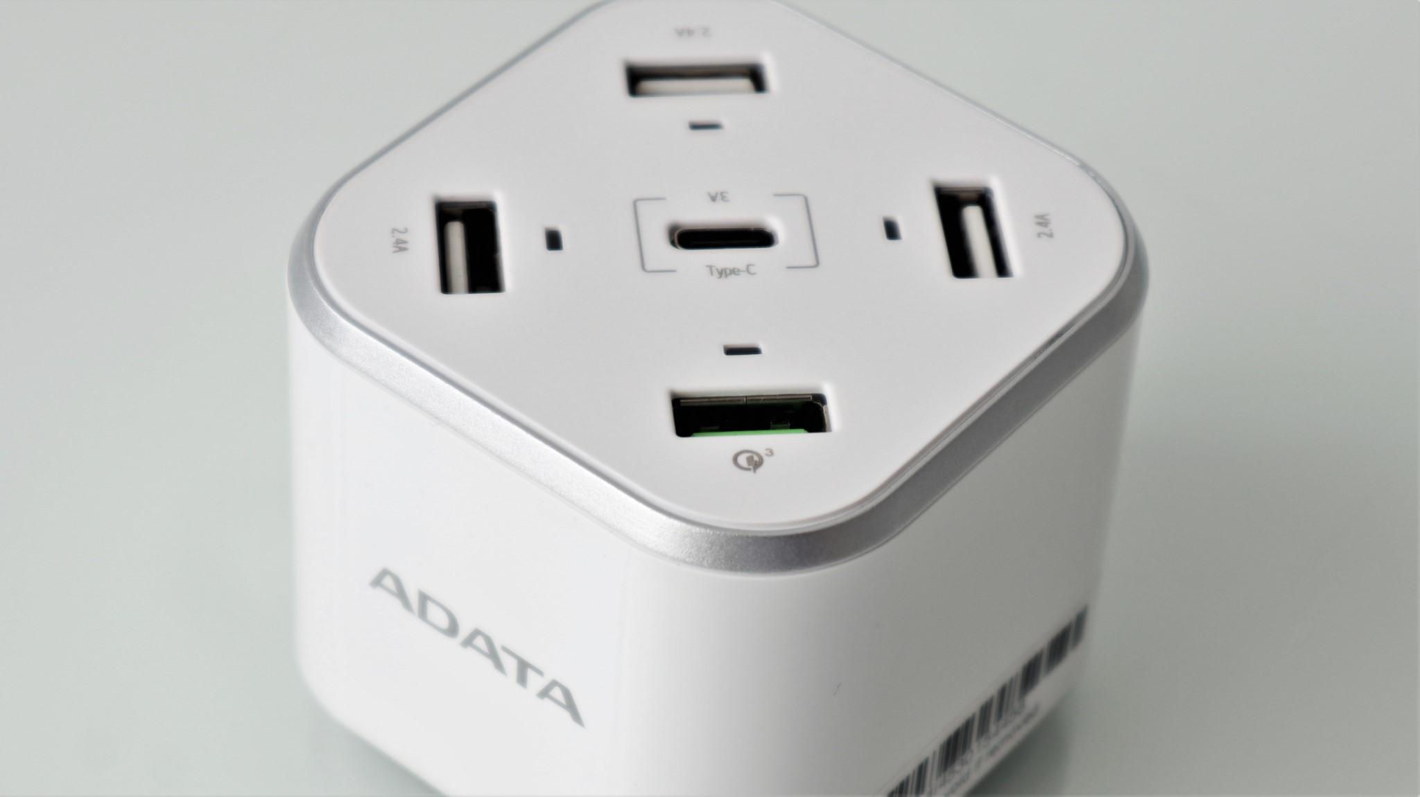 Statie de incarcare pe USB ADATA CU0480QC