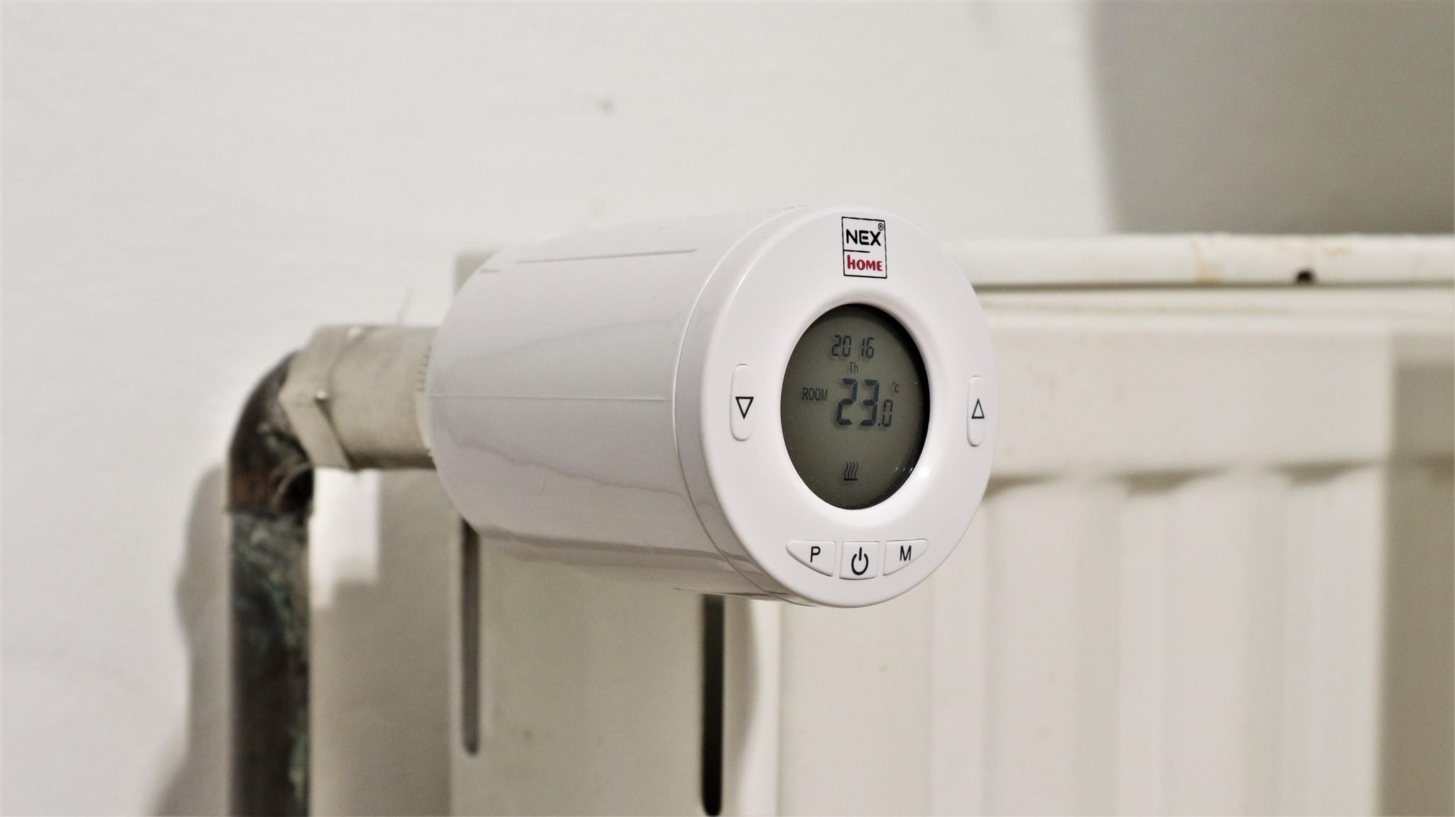 Termostate programabile wireless din kit NEX Home