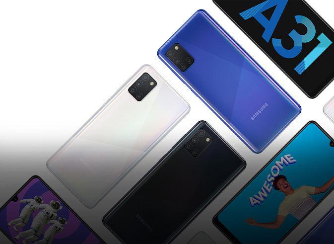 Samsung Galaxy A31 – procesor MediaTek Helio P65, cameră foto cvadruplă şi baterie de 5000 mAh