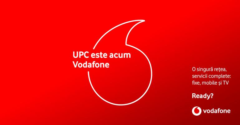 Vodafone şi UPC au finalizat procesul de fuziune