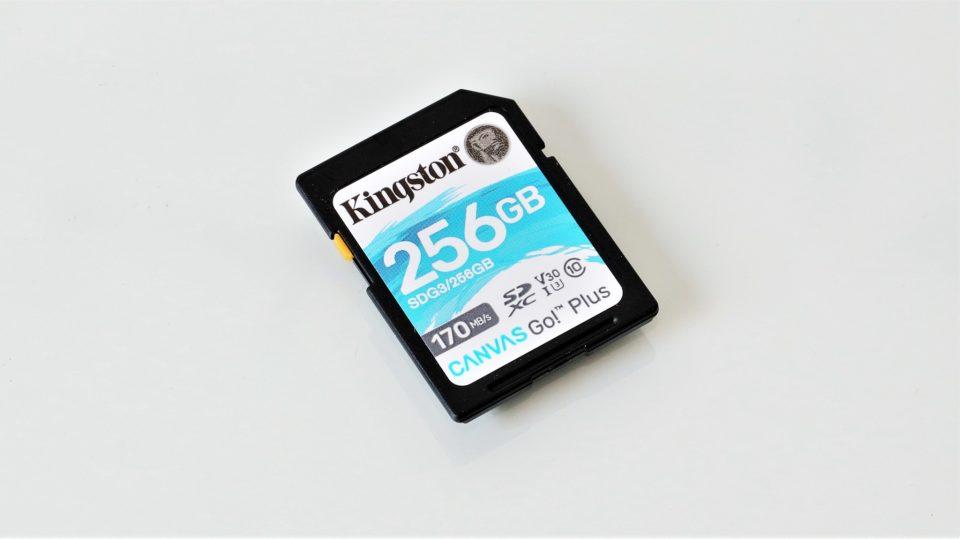 Card de memorie SDXC UHS-I U3 V30 Kingston Canvas Go! Plus 256 GB – review