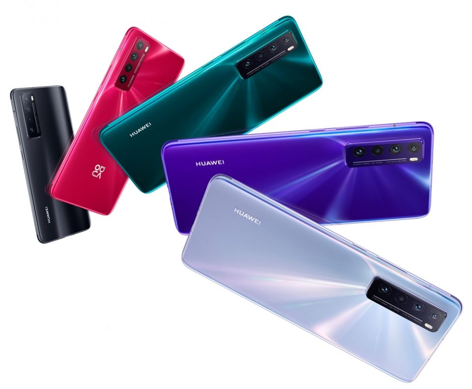 Huawei Nova 7 5G – procesor Kirin 985, conectivitate 5G şi display OLED