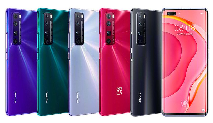 Huawei Nova 7 Pro 5G – cameră frontală duală, display curbat la 70 de grade şi Wi-Fi ax