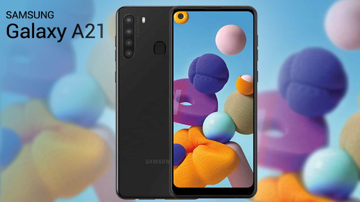 Samsung Galaxy A21 – cameră foto cvadruplă, baterie de 4000 mAh şi display HD+